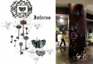 Y-walls Design_Beatrice Garden_Interior Design_Interiors_Hongkong_Art Installation_prints_retail design
