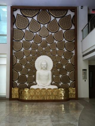 Y-walls Design_Buddha Jaali Wall_Interiors_Interior Design_Art Installation_Craft_Ministry Of External Affairs_DelhiIndia
