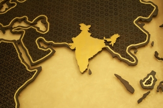 Y-walls Design_World Map Jaali Wall_Interiors_Interior Design_Art Installation_Craft_Ministry Of External Affairs_DelhiI